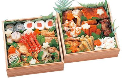 瓢亭のおせち料理